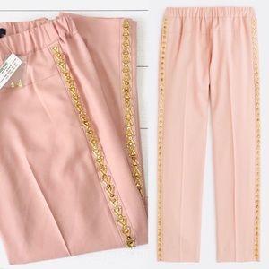 NWT💕J. Crew Collection Beaded Tuxedo Pants/Slacks